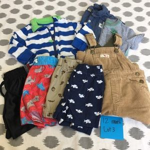 Other - 12 Months Baby Boy Summer Fall Lot Clothes Overall